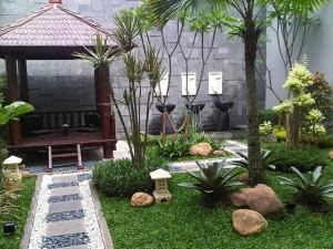 jasa pembuatan taman kolam dan gazebo berpengalaman
