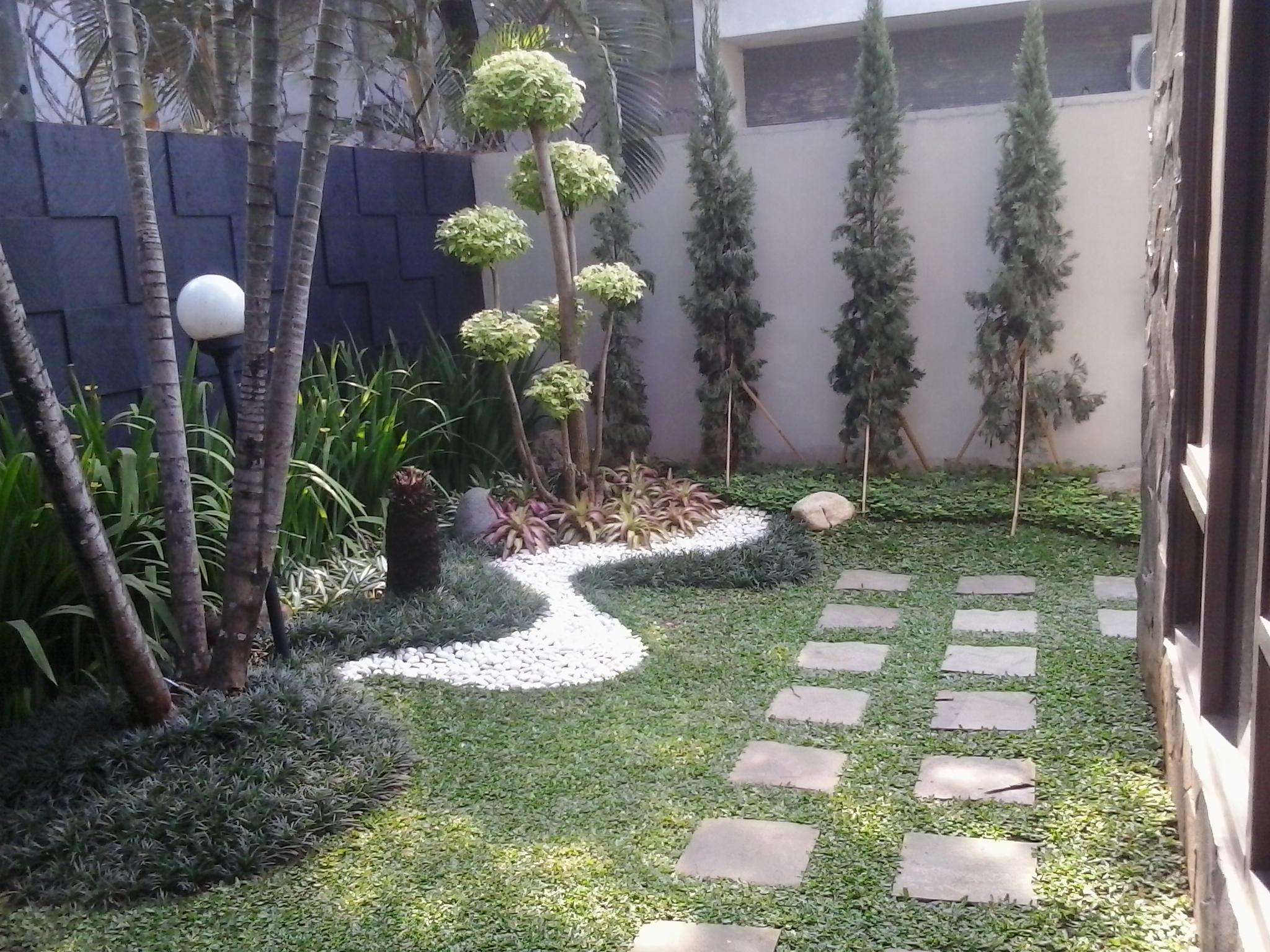 Tukang taman kolam dan gazebo alam sutra