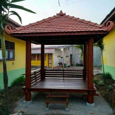 jasa pembuatan gazebo halaman rumah
